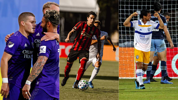 Orlando City has been a success story, while Atlanta United is in peril at MLS Is Back