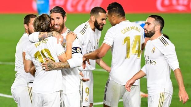 Real Madrid wins La Liga's title