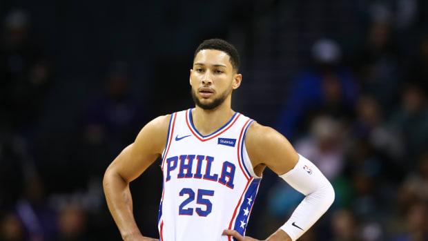 Philadelphia 76ers All-Star, Ben Simmons.