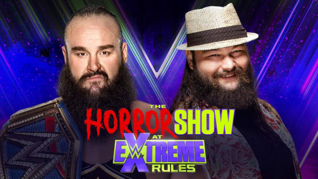 Promotional image for WWE Extreme Rules 2020