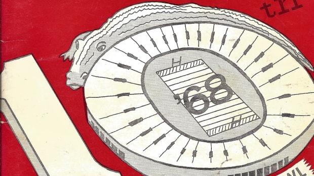 Alabama media guide 1968 Gator Bowl