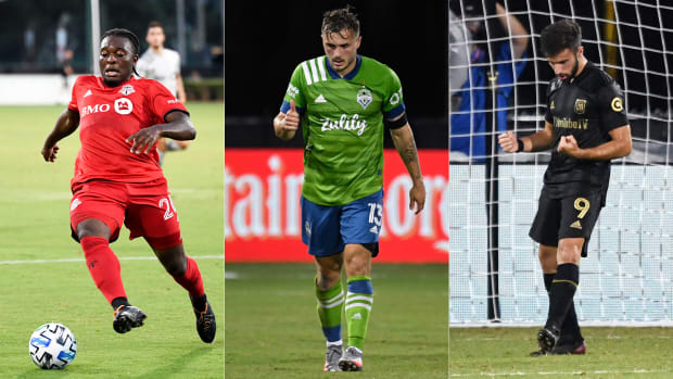 Ayo Akinola, Jordan Morris and Diego Rossi have been standout performers at MLS Is Back