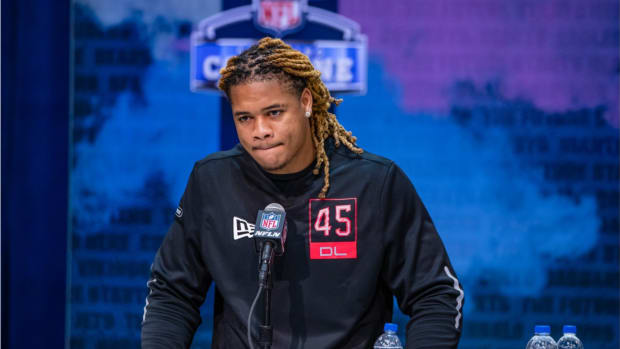 Chase Young at NFL Combine