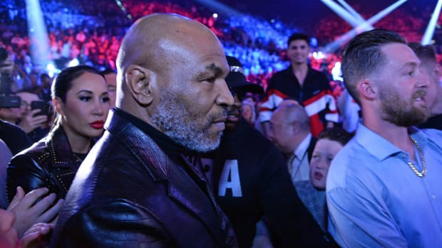 Boxing great Mike Tyson