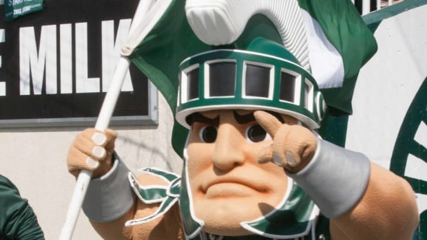 Sparty Leads the Way