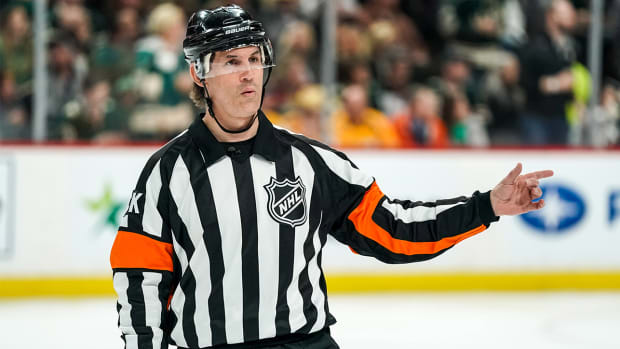 NHL referee Wes McCauley can't wait to get back on the ice for the league's restart amid the coronavirus pandemic.