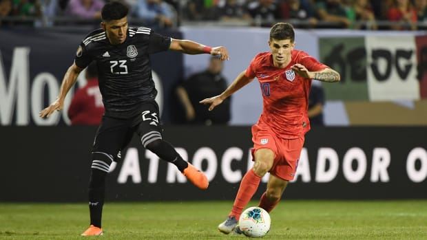 Christian Pulisic and the USA will face Mexico in World Cup qualifying