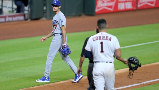 UNCHECKED DODGERS VS ASTROS
