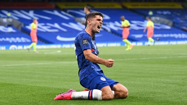 Christian Pulisic has starred for Chelsea since the restart