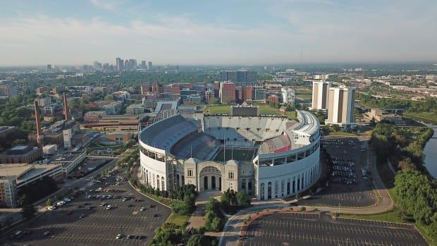 Ohio Stadium Aerial Image
