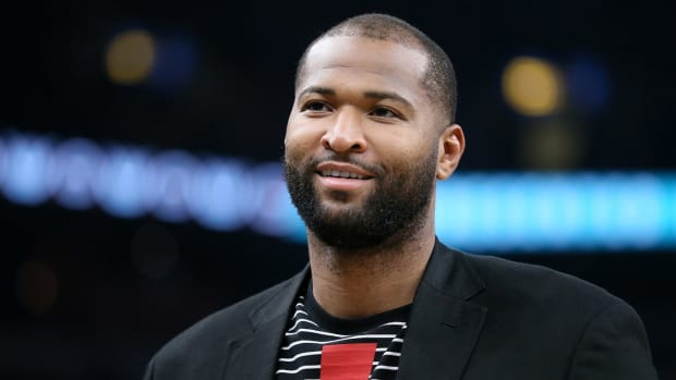 Los Angeles Lakers center DeMarcus Cousins during the game against the Memphis Grizzlies