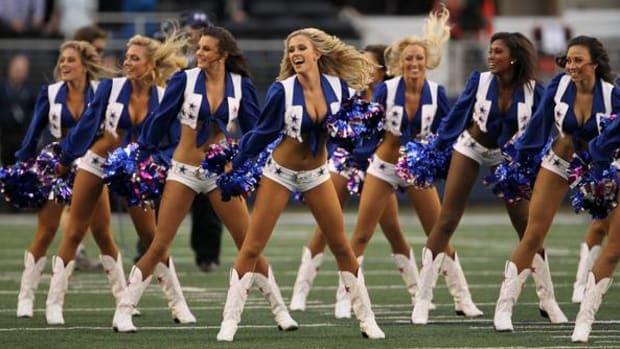 cheerleaders cow