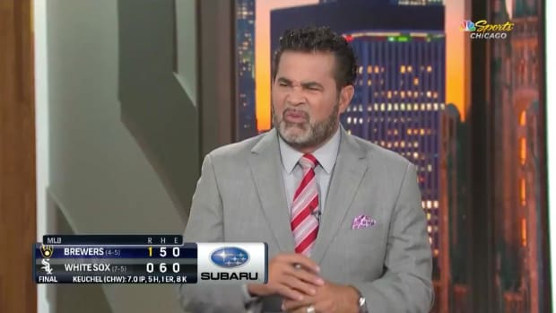 Ozzie Guillen on NBC Sports Chicago's White Sox postgame show
