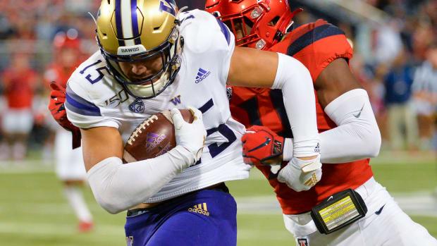 Washington Huskies wide receiver Puka Nacua (15)