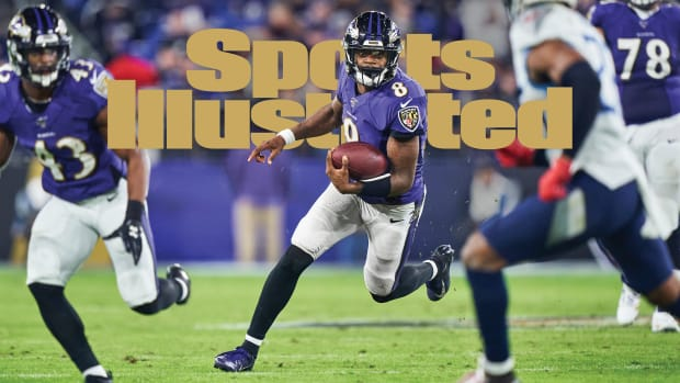 Lamar Jackson Sports Illustrated cover