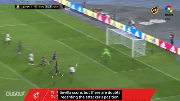 When VAR made its debut in Spanish football