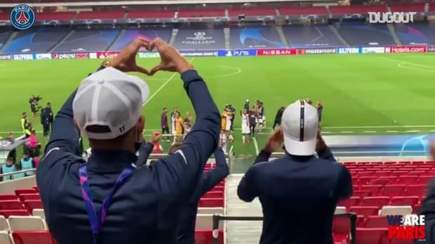 Behind the scenes of Paris Saint-Germain after Atalanta victory