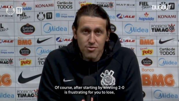 Cássio analyzes Corinthians defeat to Atlético-MG