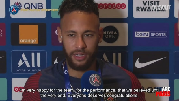 Neymar : we believed until the very end
