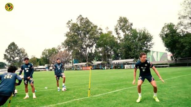Club América's dizzy penalty challenge