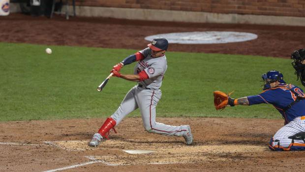 Nationals' Juan Soto hits a home run vs. Mets