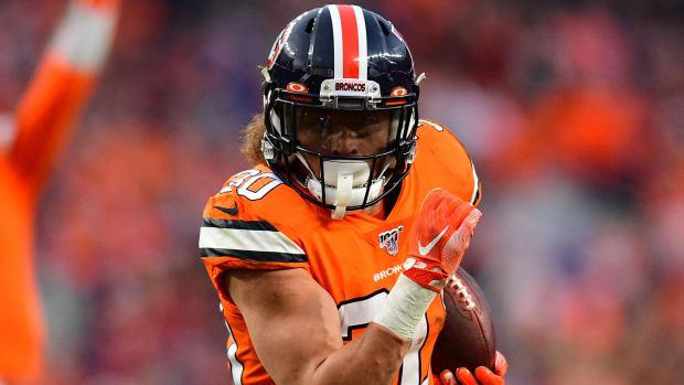 Phillip Lindsay, Denver Broncos