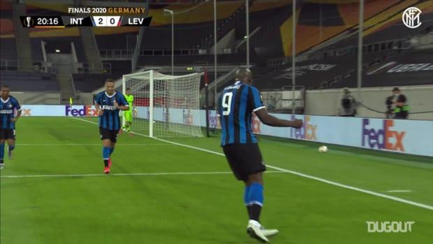 Romelu Lukaku's record-breaking Europa League run
