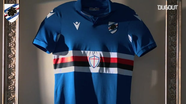 Sampdoria's new jerseys for the 2020-21 campaign