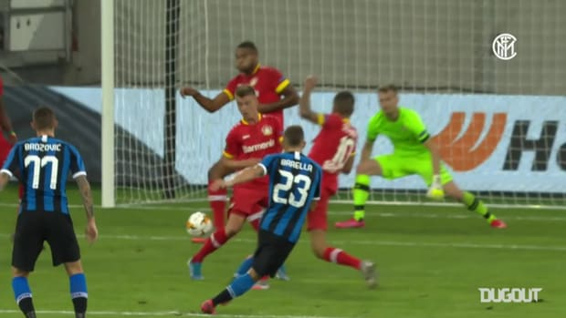 Lukaku and Barella fire Inter to Europa League semi-finals