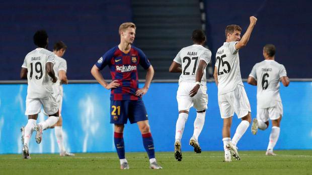 Barcelona-Bayern-Highlights