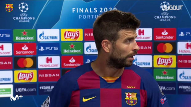 Piqué: 'We have hit rock bottom'