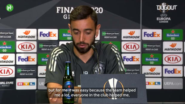 Bruno Fernandes discusses how he adapted so well to Manchester United