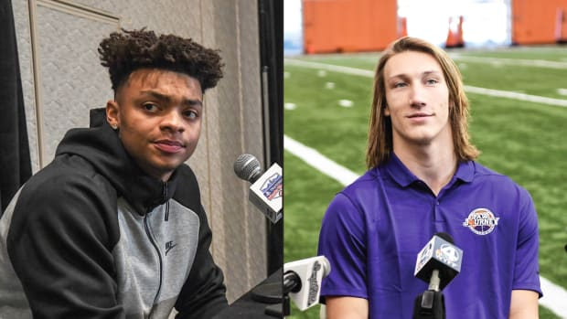 Justin Fields and Trevor Lawrence