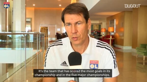 Garcia speaks about Lyon's great offensive and defensive animation vs Man City