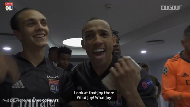 Behind the scenes of Lyon celebrations after semi-final qualification