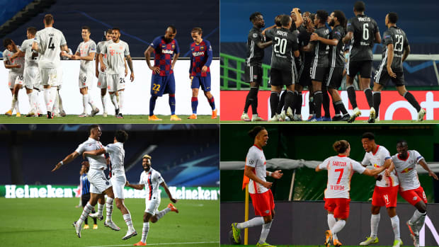 Bayern Munich, PSG, Lyon and RB Leipzig are in the Champions League semifinals