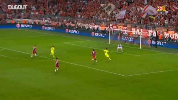 Luis Suarez's Best Barça assists