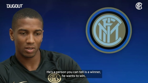 Ashley Young discusses his Europa League hopes with Inter