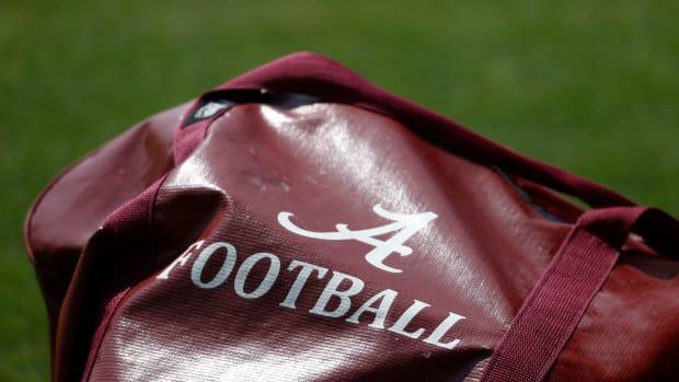 Alabama practice bag