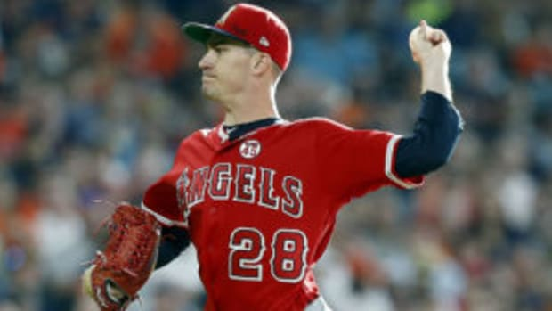 Los Angeles Angels Anaheim Andrew Heaney