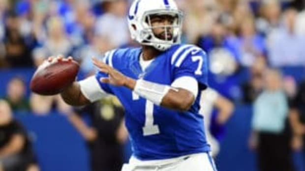 Indianapolis Colts QB Jacoby Brissett