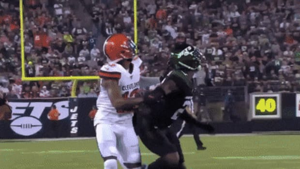 Image result for odell beckham browns animated gif