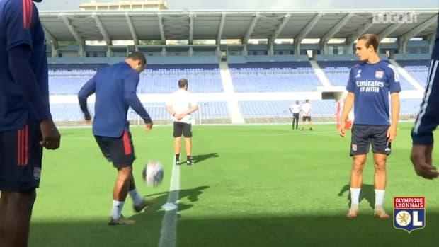 Lyon continue to prepare for Champions League semi-final