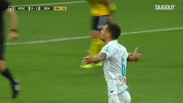 Dejan Lovren scores first goal for Zenit