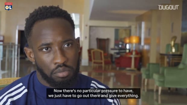 Moussa Dembele's reaction before to play Bayern Munich in Champions League semi-finals