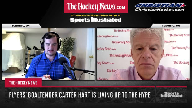 Carter Hart is living up to the hype