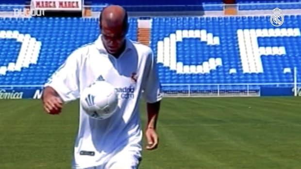 Zinedine Zidane's 19 years with Real Madrid