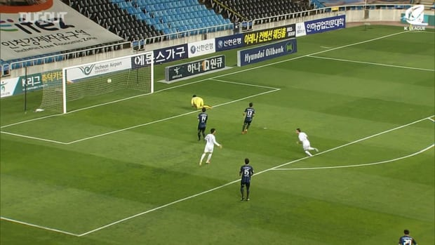 All Adam Taggart's K League goals against Incheon United