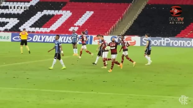 Gabriel Barbosa last-minute equaliser vs Grêmio