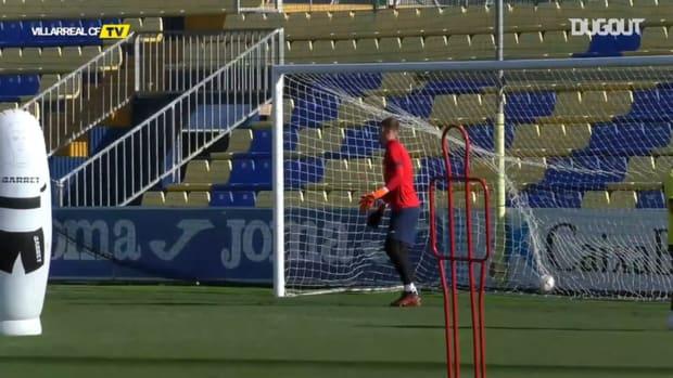 Villarreal's goals in training